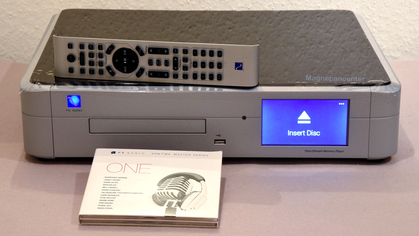 PS Audio SACD Memory Player